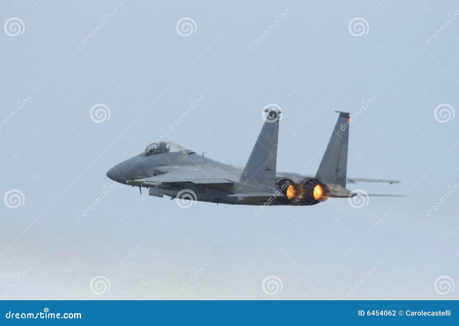 15 orła airshow myśliwiec f