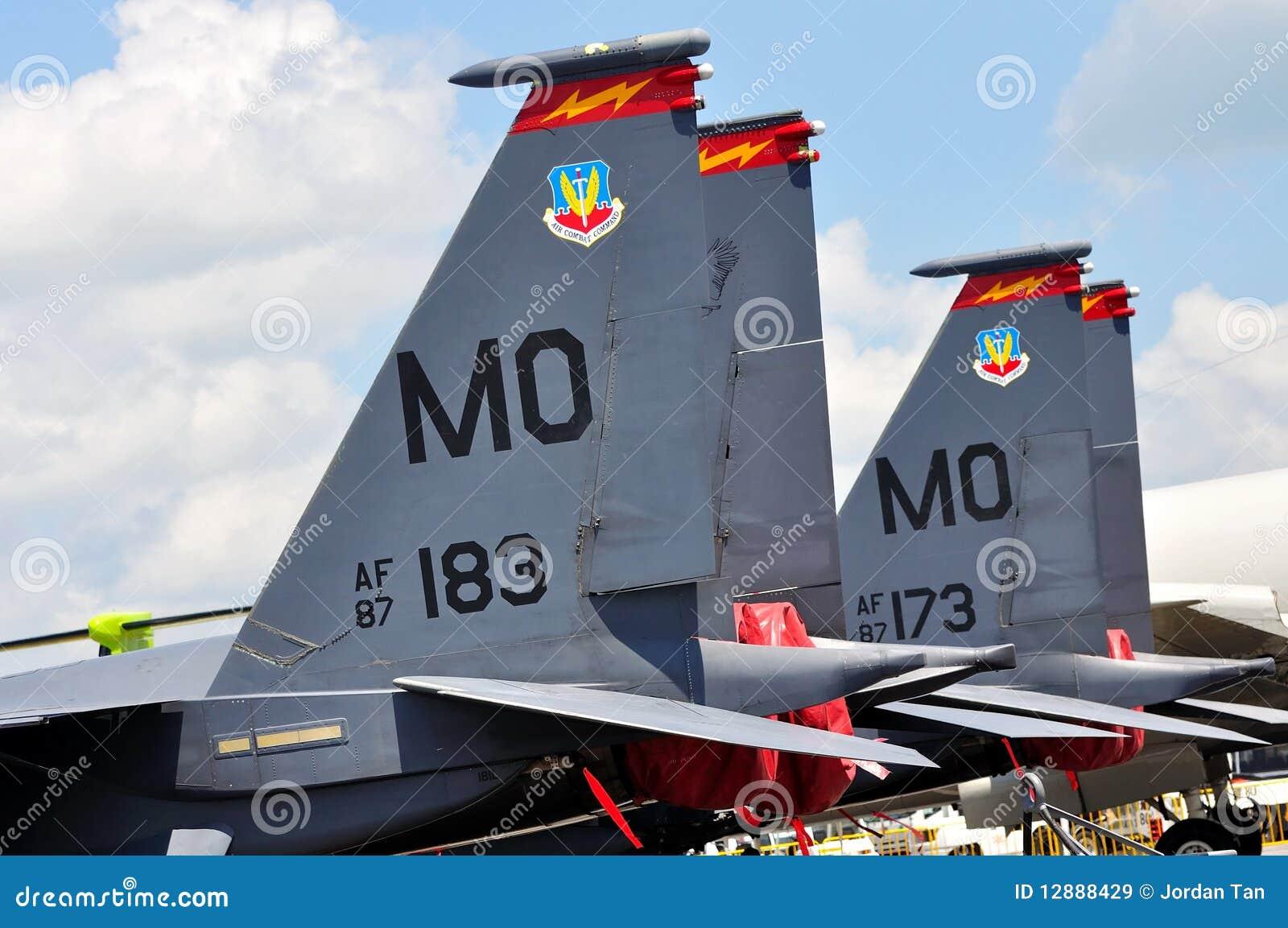 15e airshow orła f Singapore strajkowy usaf