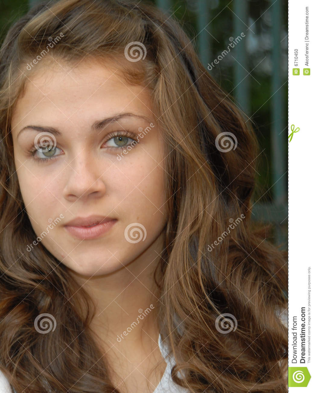 16 Years Old.. Stock Photo. Image Of Mouth, Girlie, Teen