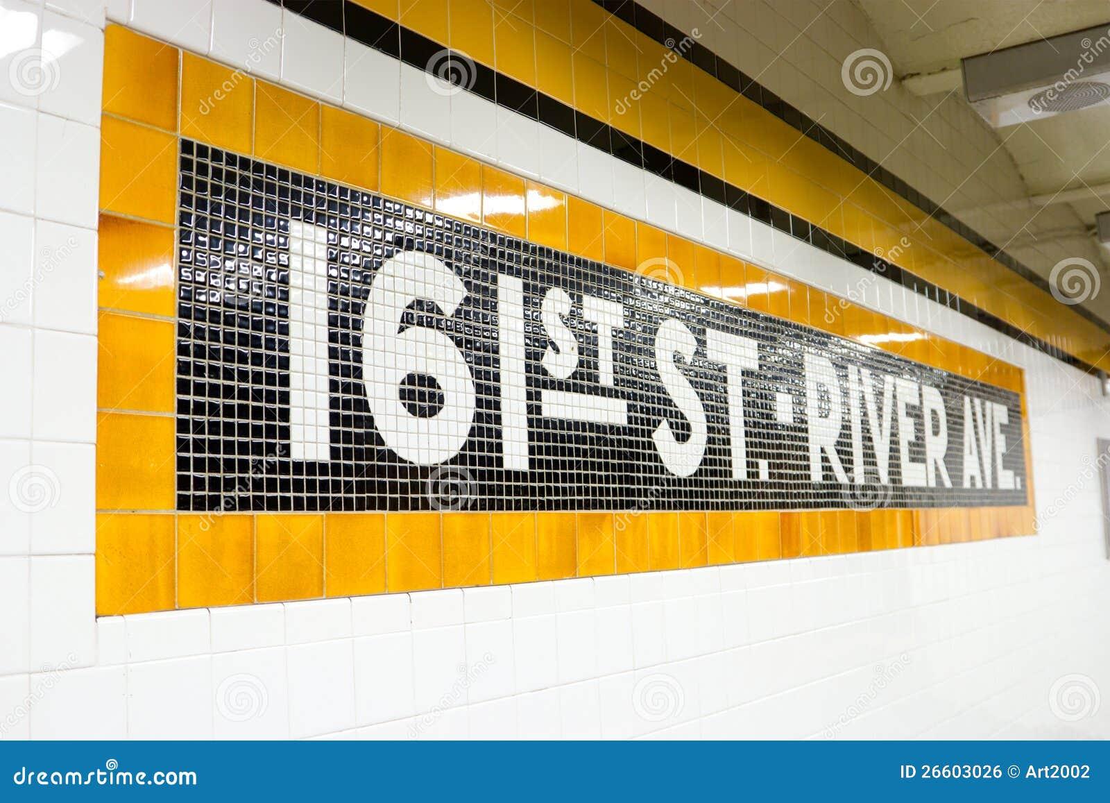 161st Uliczna Stacja Metru, NYC