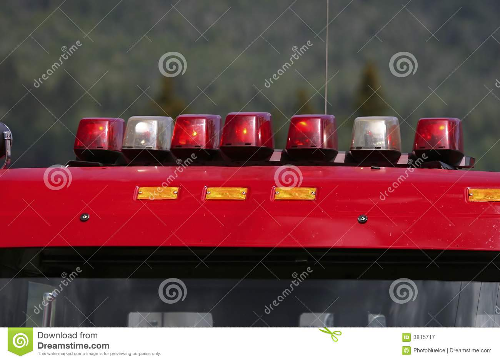 photography 162 emergency lights on a fire truck image 3815717. Black Bedroom Furniture Sets. Home Design Ideas