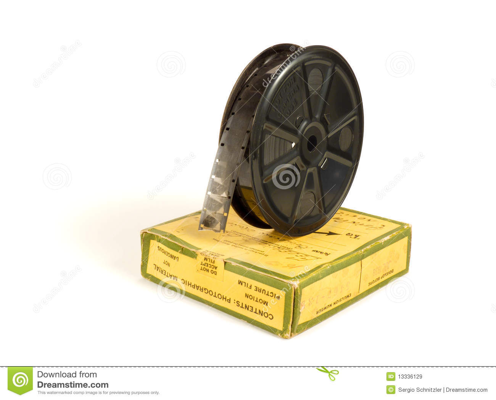 16mm 30m box filmrullen