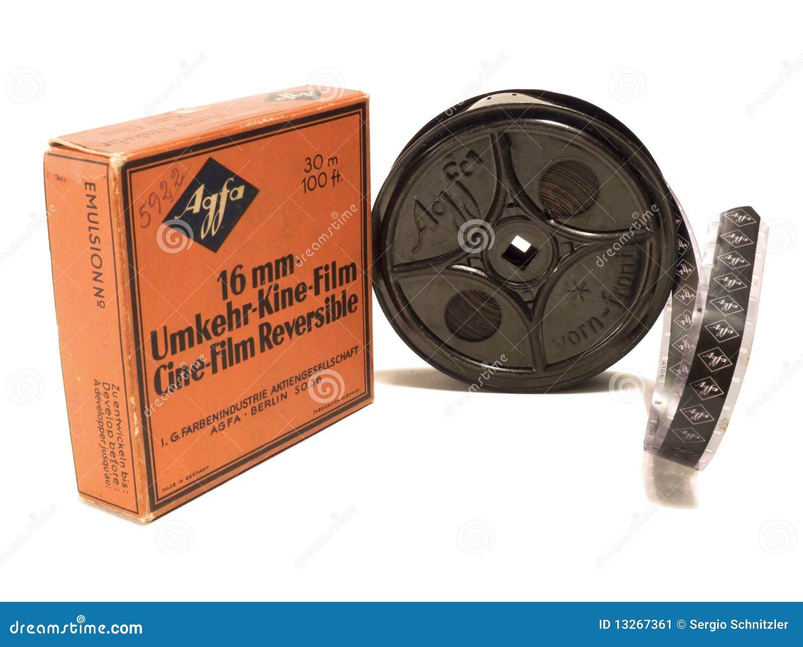 16mm afga redakcyjny ekranowej rolki use