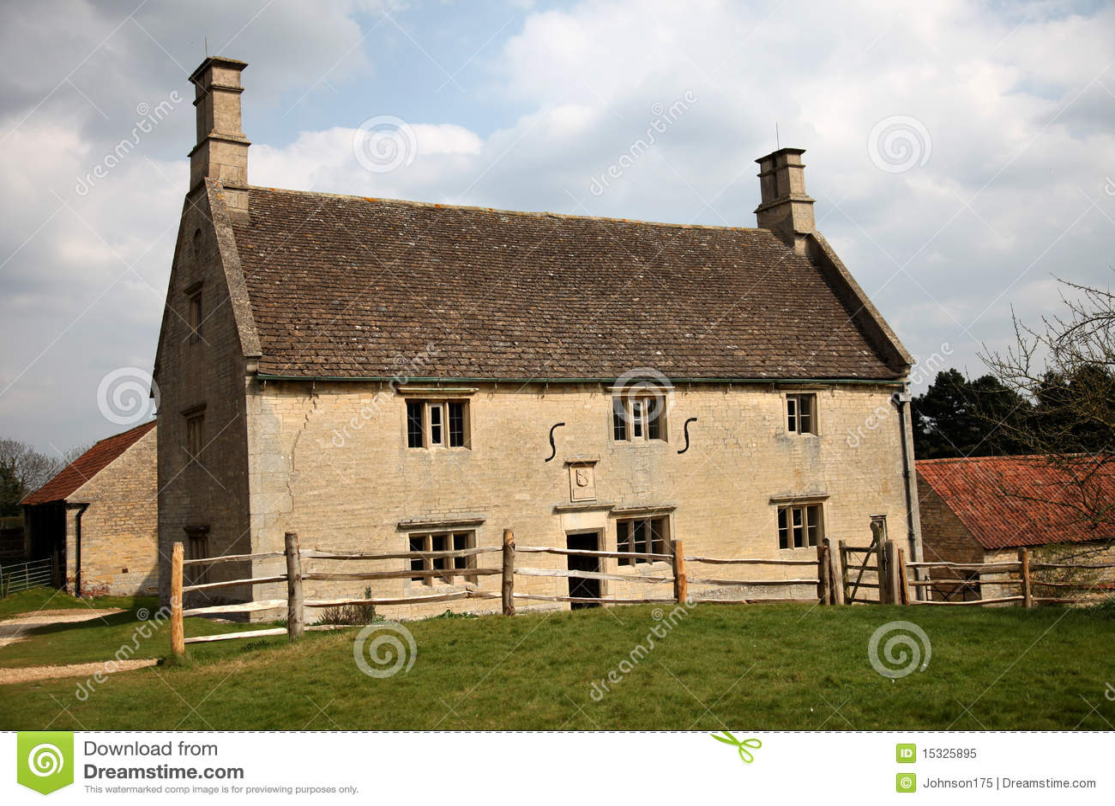17. Jahrhundert-Bauernhaus