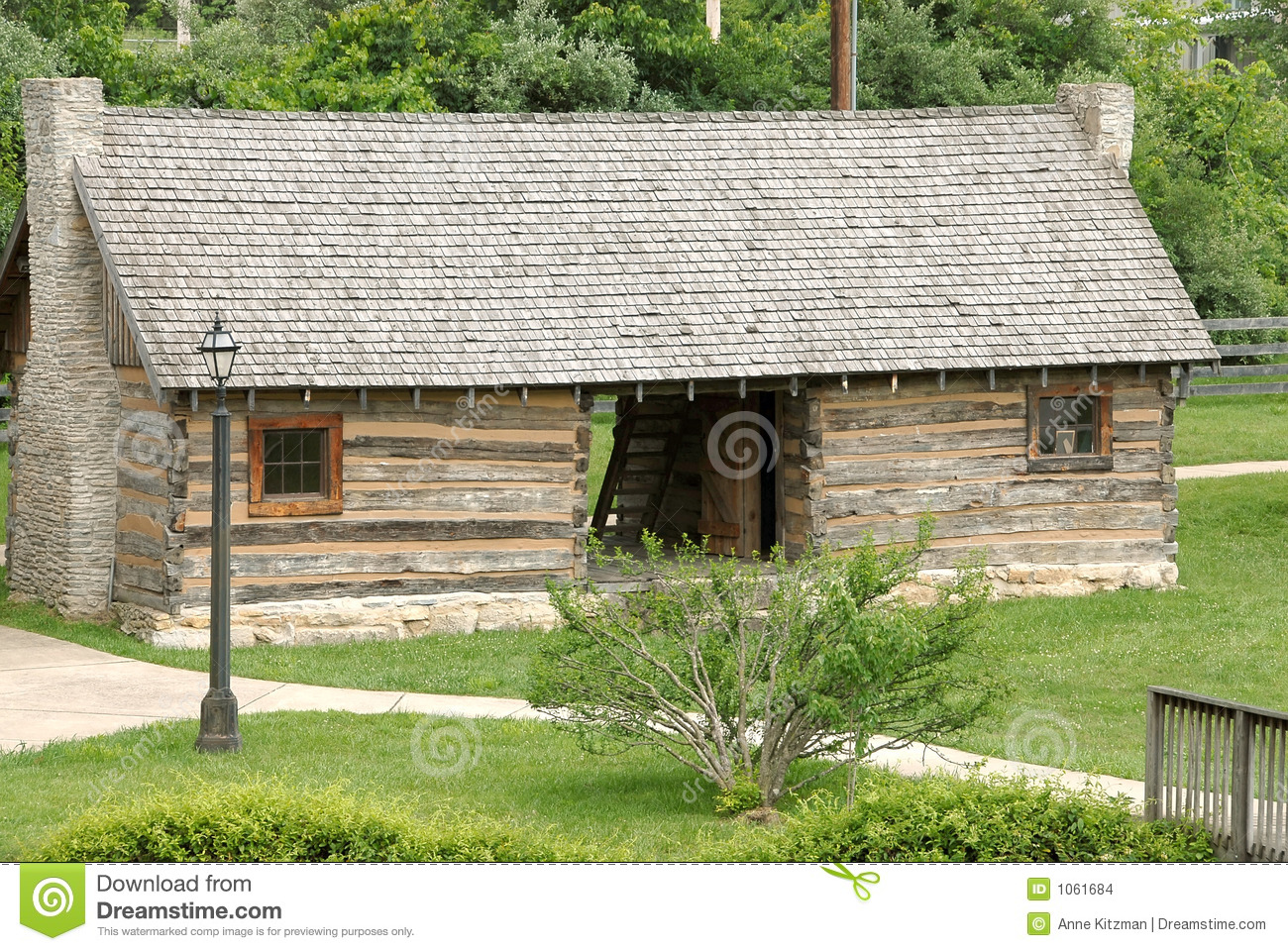 1770 log cabin stock images image 1061684 for Cabins 1770