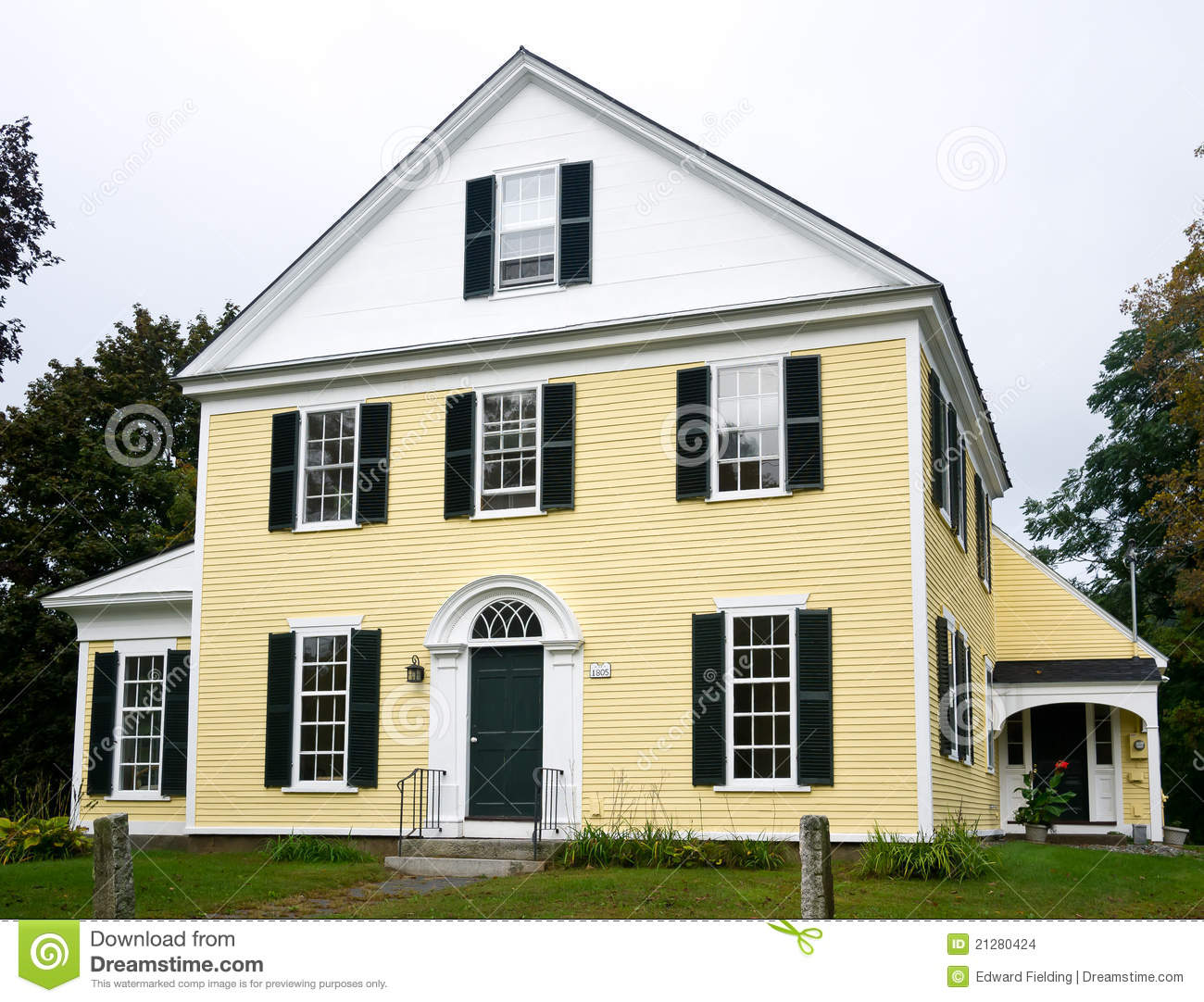 In Addition Country Homes On New England Colonial Interior Design
