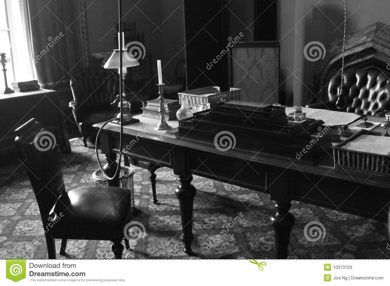 1800s Style Executive Office Stock Image Image 10373103