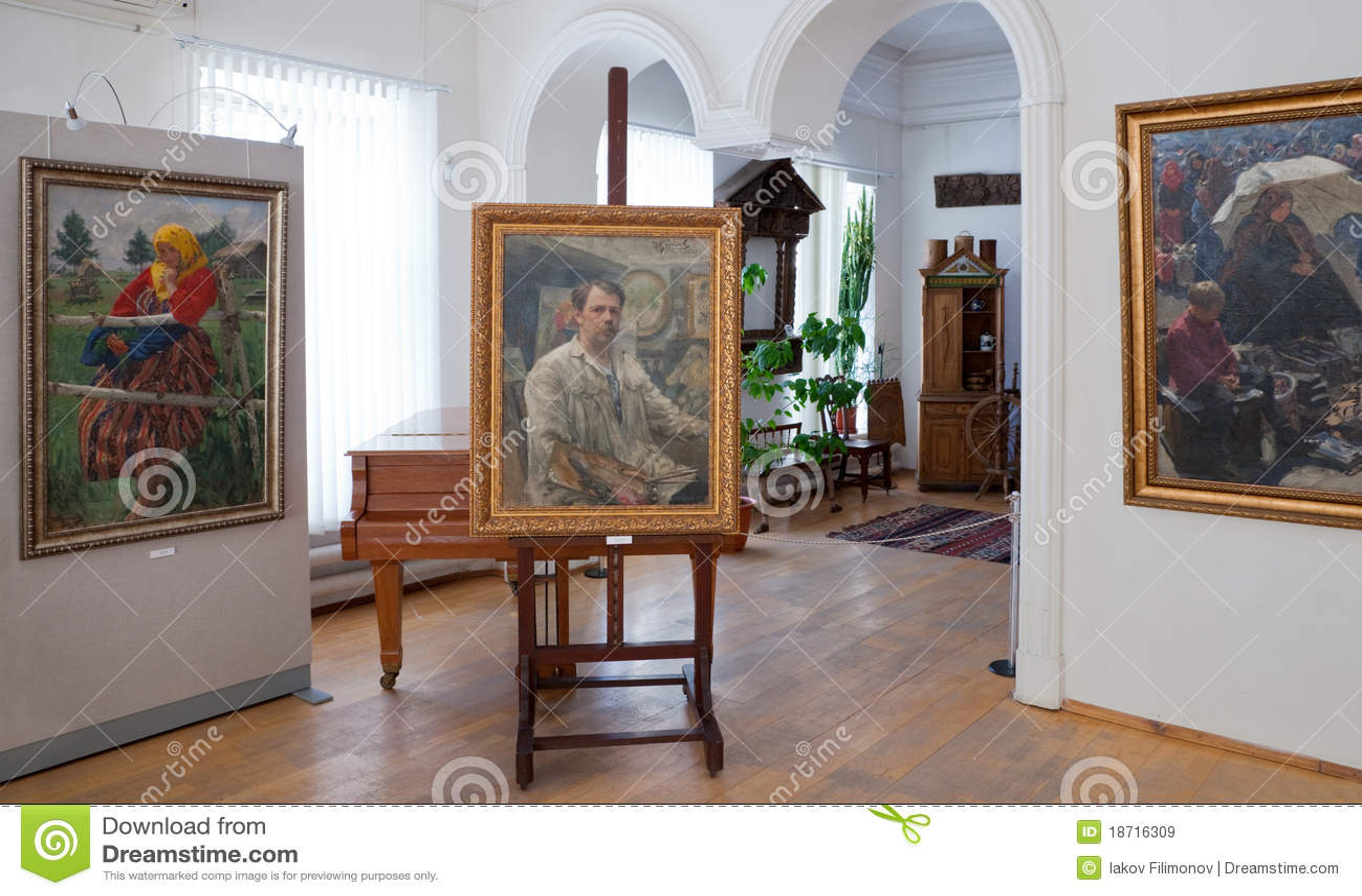 1875 1941 artysty galery ivan kulikov