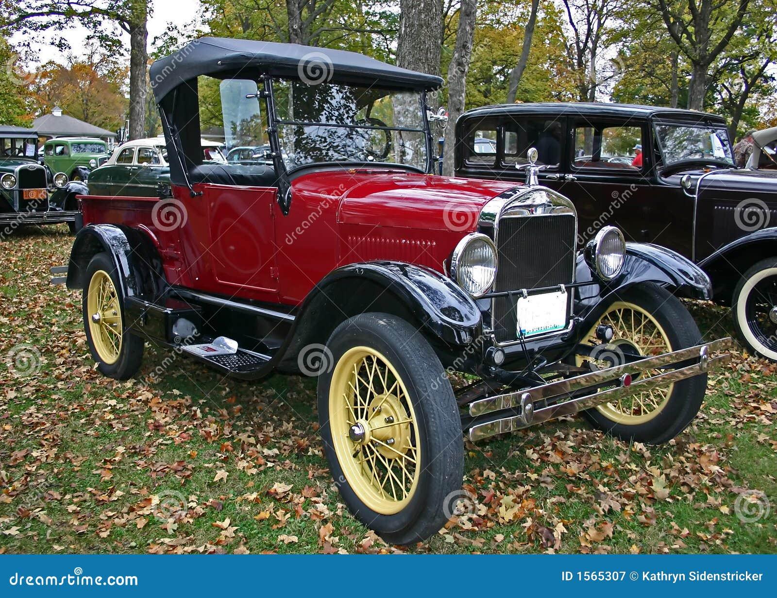 1927 vorbildliche T Ford Aufnahme