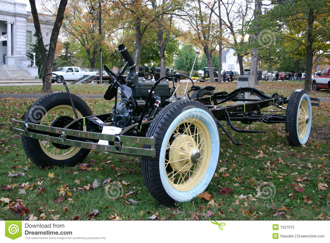 1930 Model A Chassis & Engine Royalty Free Stock Photo - Image ...