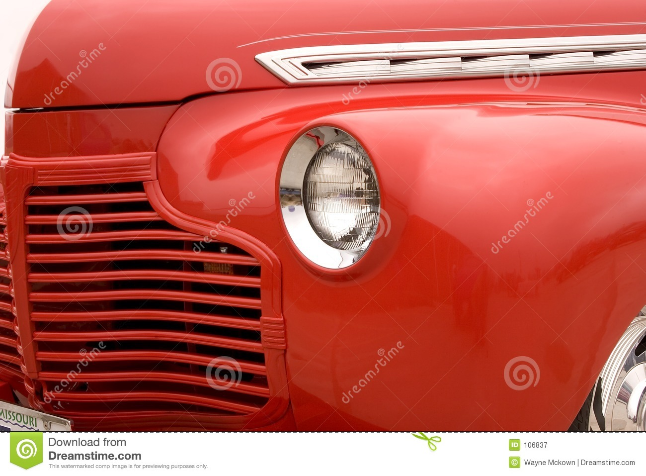 Download 1940's Chevy street rod stock image. Image of american - 106837