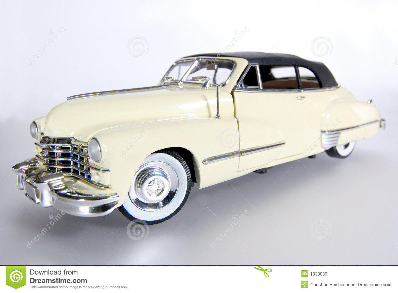 1947 Cadillac Metal Scale Toy Car 2 Stock Image Image Of Scale