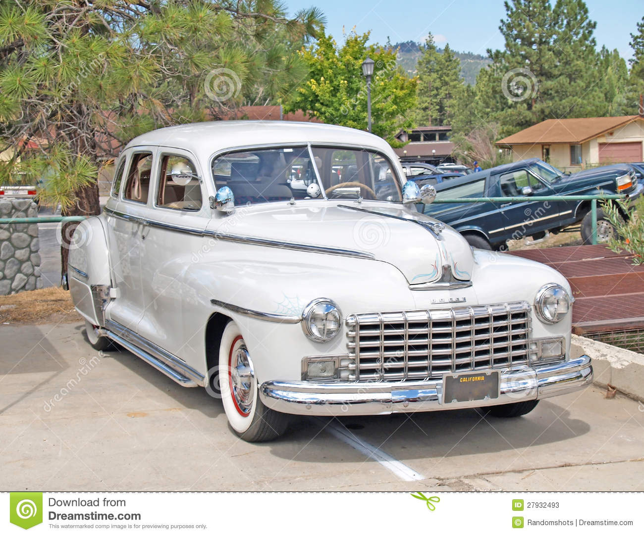 1948 dodge editorial stock photo image of whitewall for 1948 dodge deluxe 4 door
