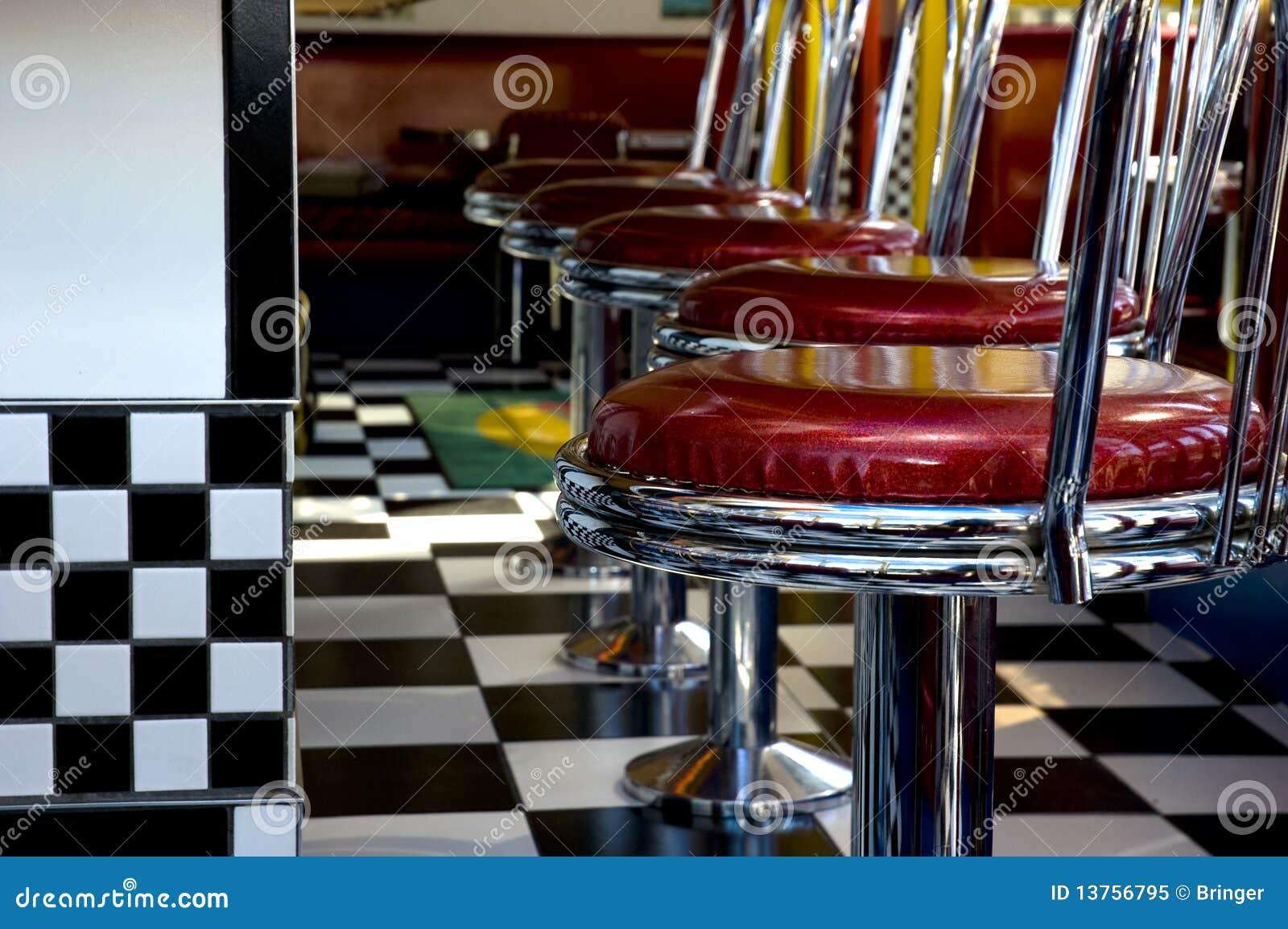 1950 39 s diner stock image image of 1960s 1950s vinyl. Black Bedroom Furniture Sets. Home Design Ideas