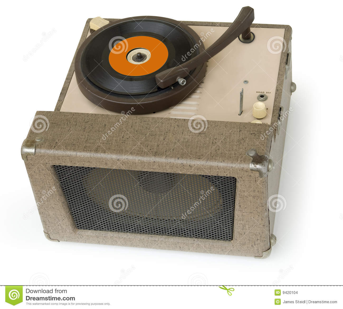 1950s Phonograph Stock Images Image 9420104
