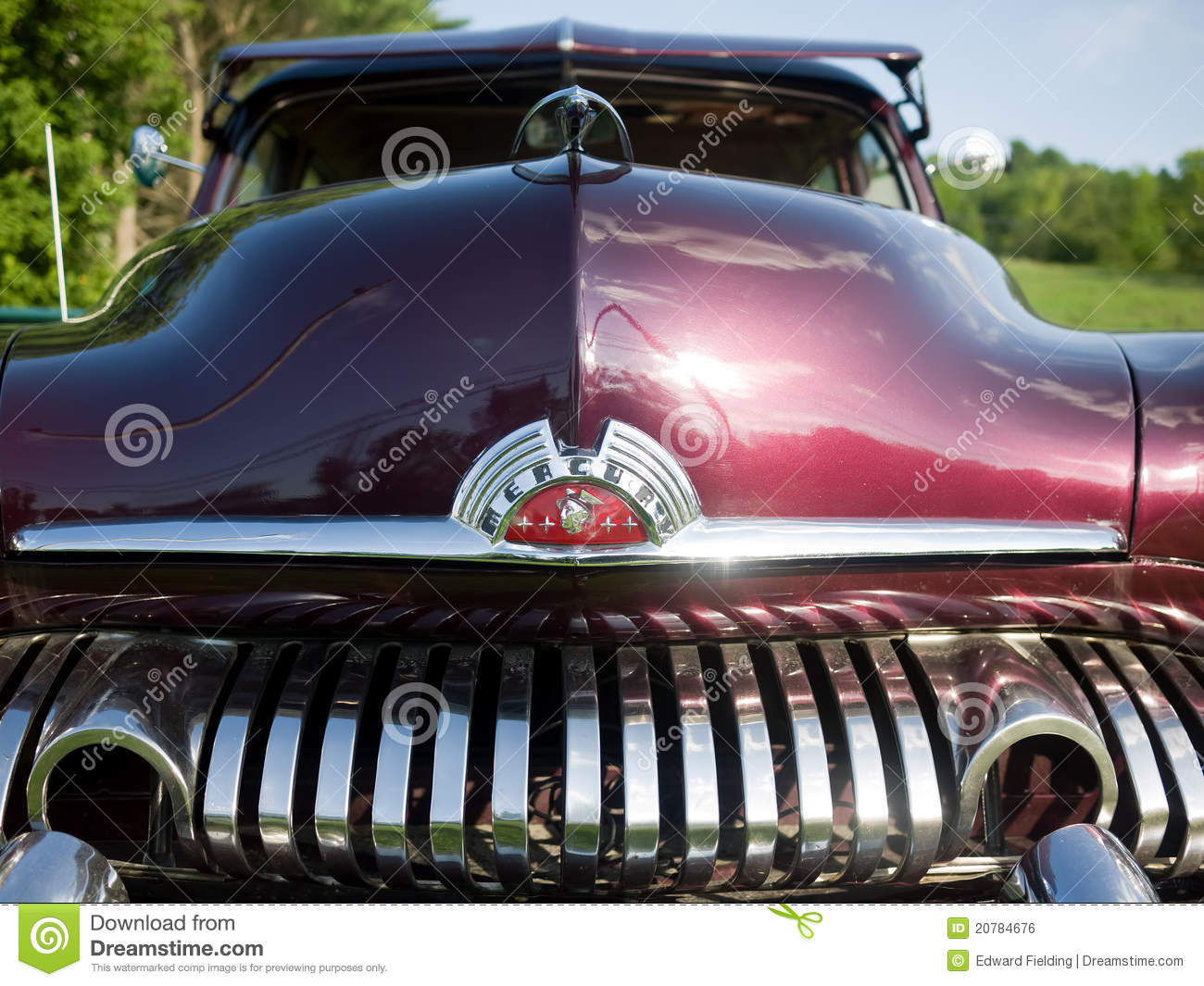 1951 Mercury Coupe Front End Editorial Photo Image 20784676
