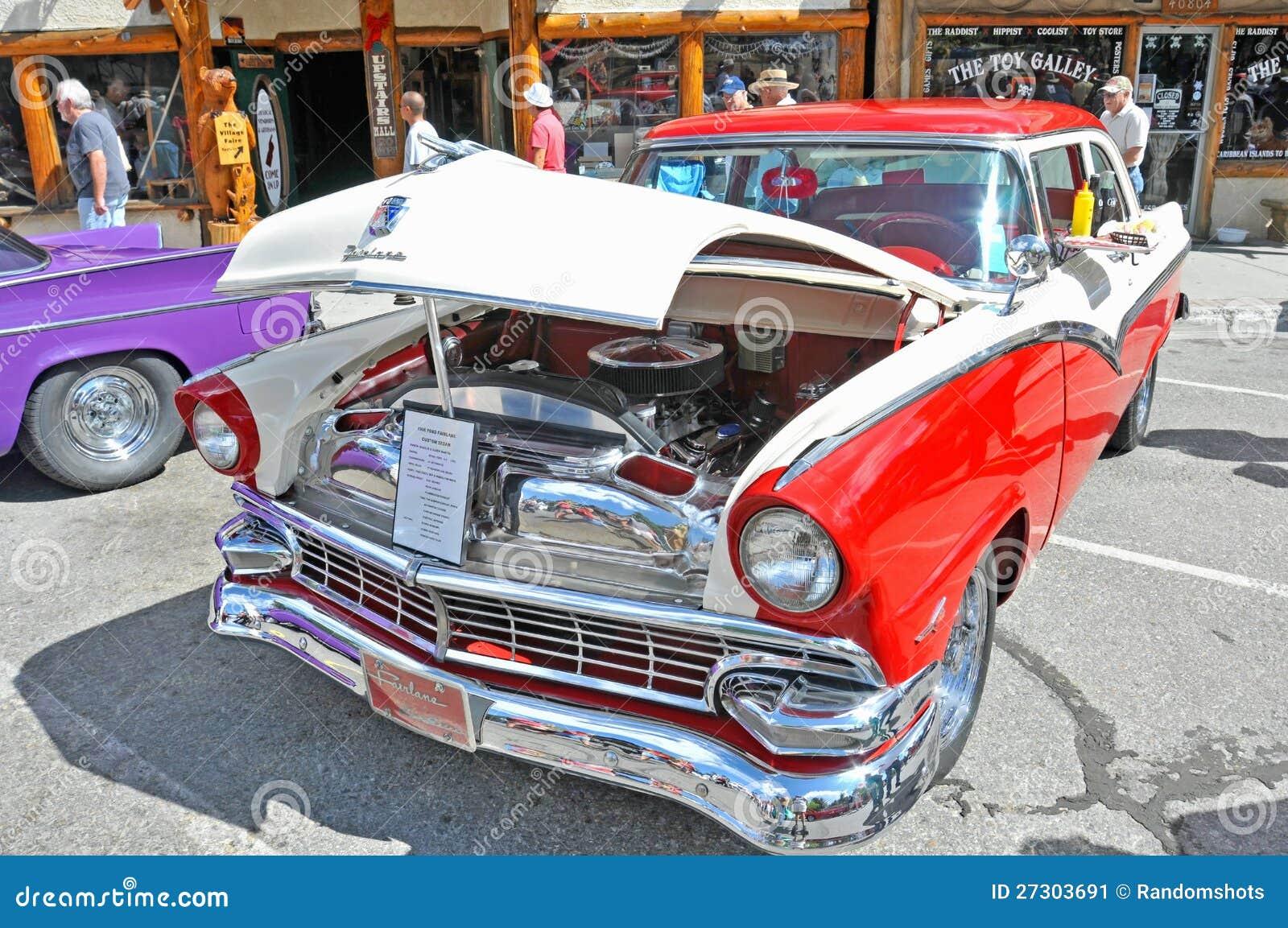 1956 Ford Fairlane Custom Sedan Editorial Photo - Image of