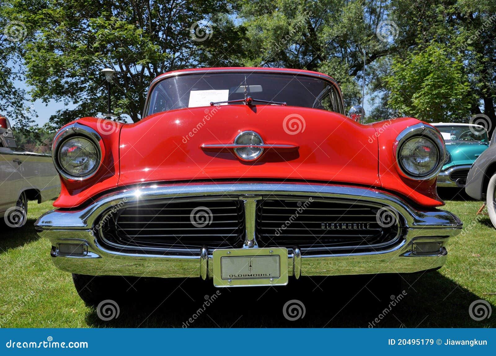 1956 Oldsmobile 88 Editorial Stock Image Image 20495179
