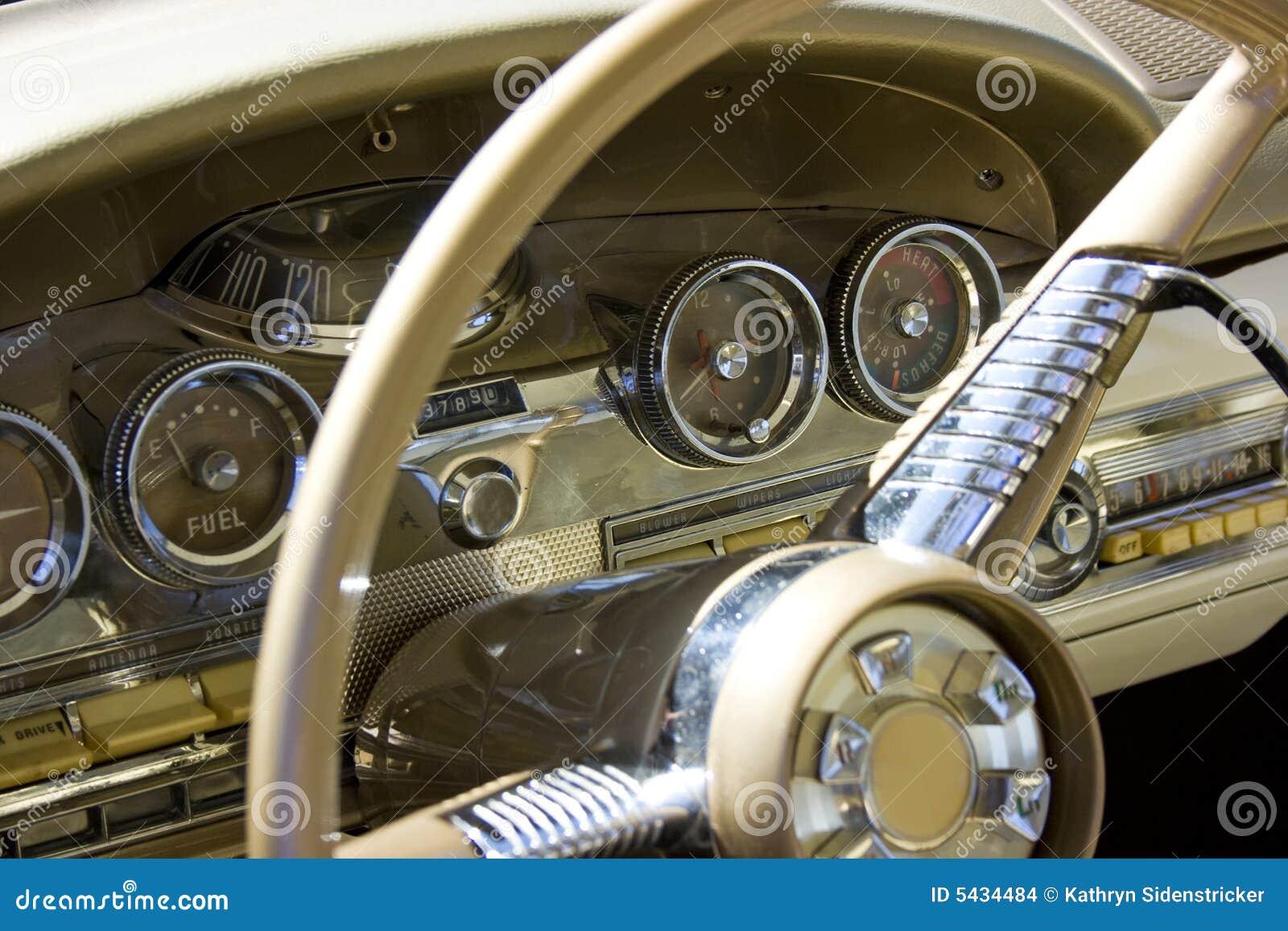 1958 dash edsel ford steering wheel