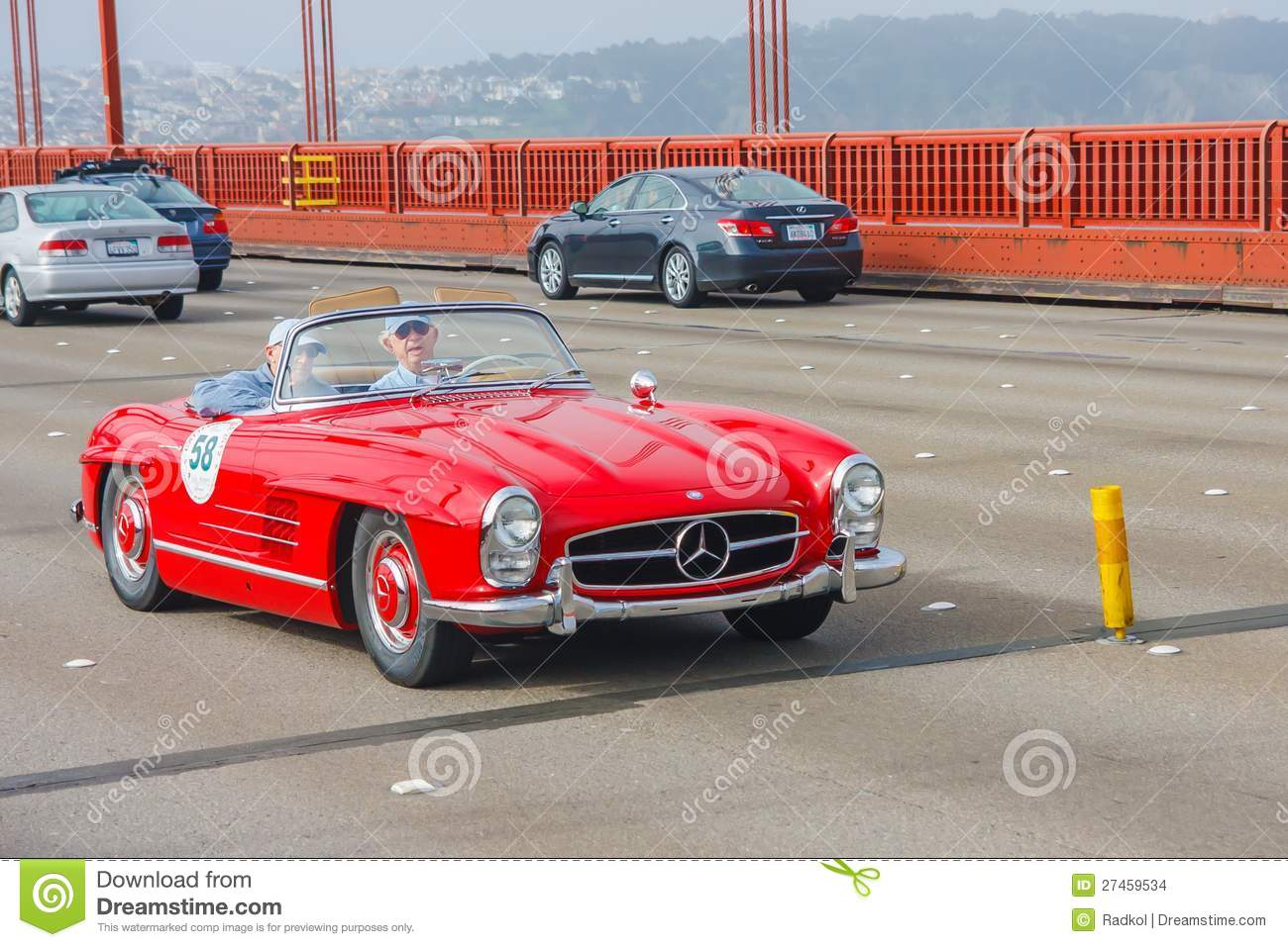 1958 mercedes benz 300sl roadster editorial stock image for Mercedes benz of goldens bridge