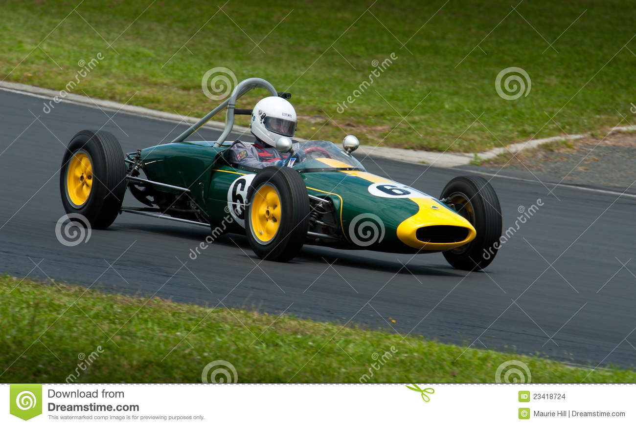 1960 Lotus 18FJ race car editorial stock image. Image of race ...