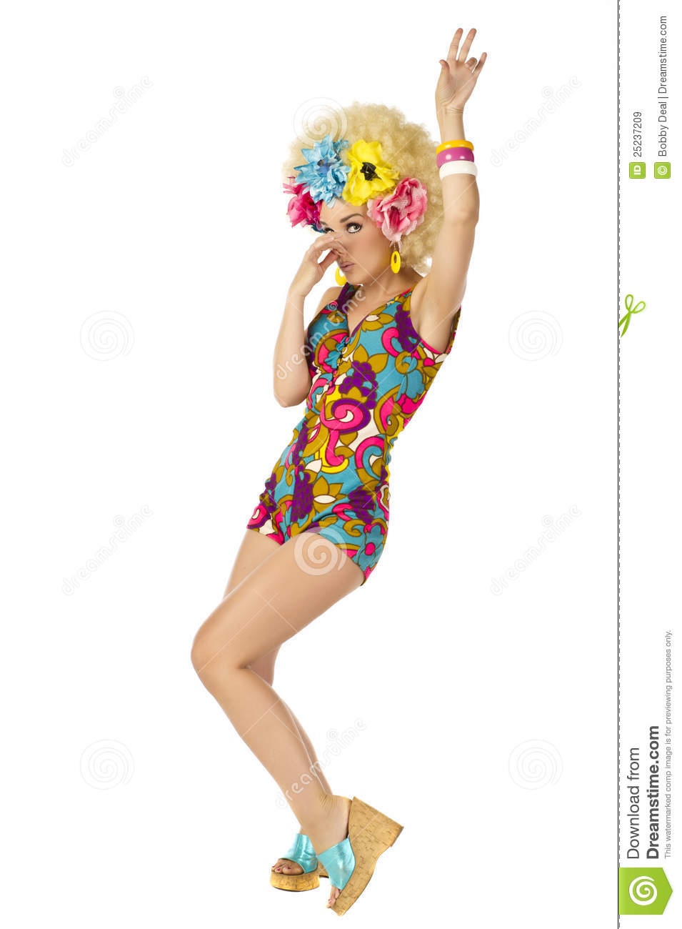 1960 s flower power royalty free stock images image 25237209