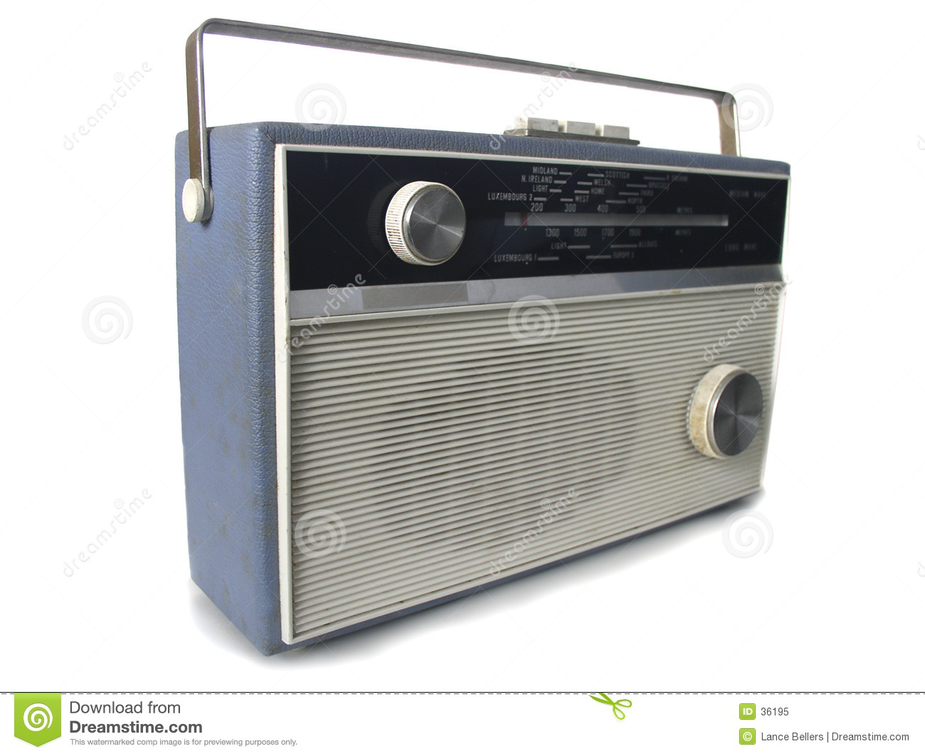 1960s Radio Royalty Free Stock Photo - Image: 36195
