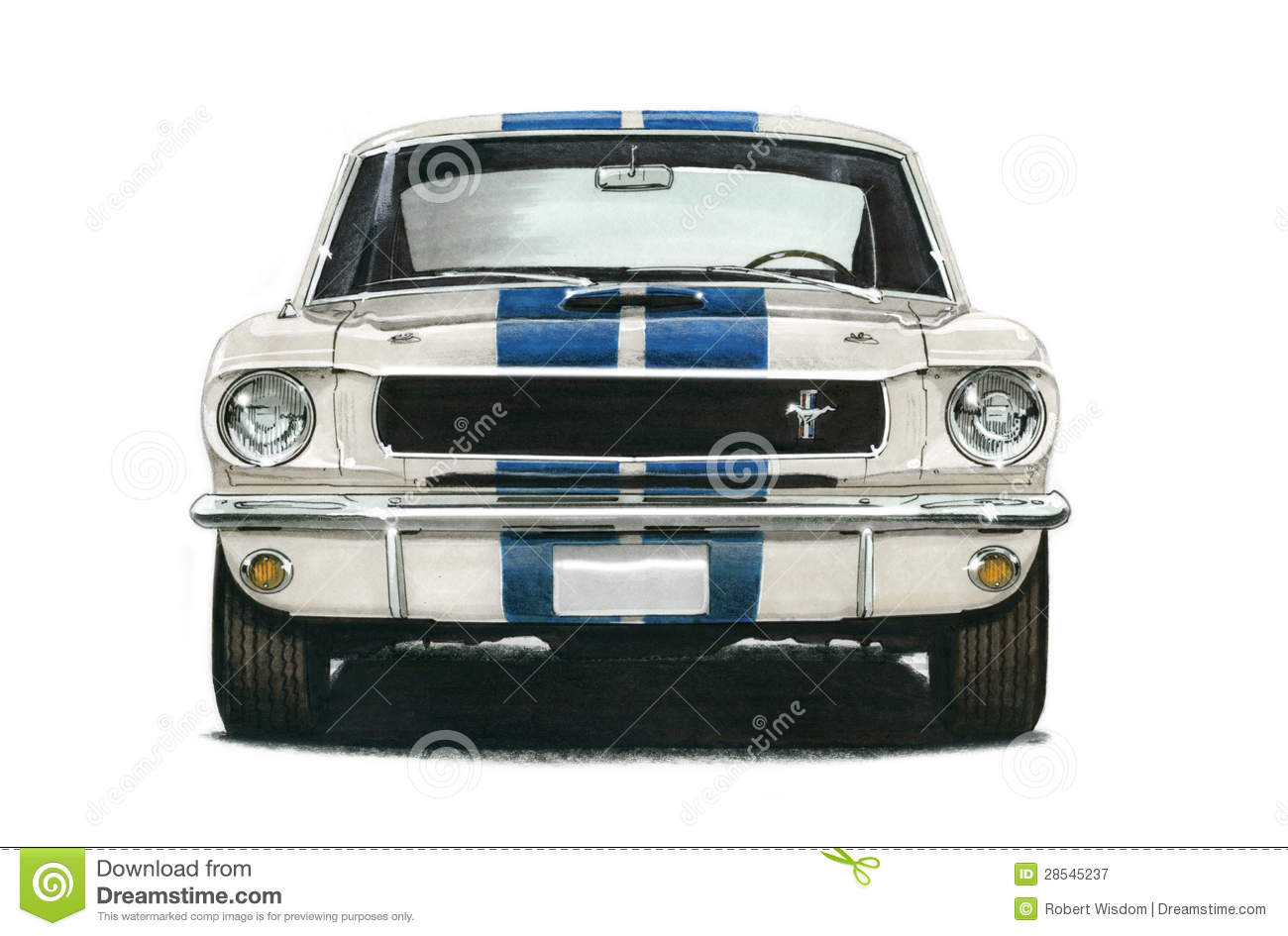 1965 Ford GT350 Shelby Mustang Coupe
