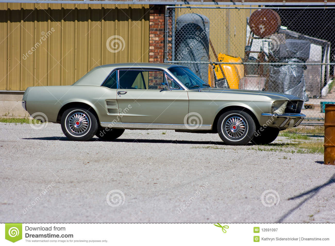 1967 Ford Mustang Coupe Stock Image Image Of Classic 12691097