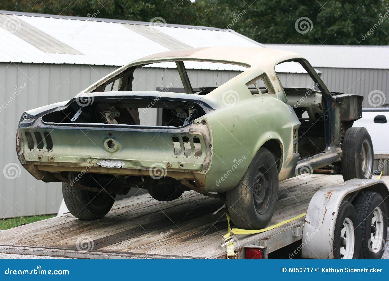 1967 Mustang Fastback Rebuild Royalty Free Stock