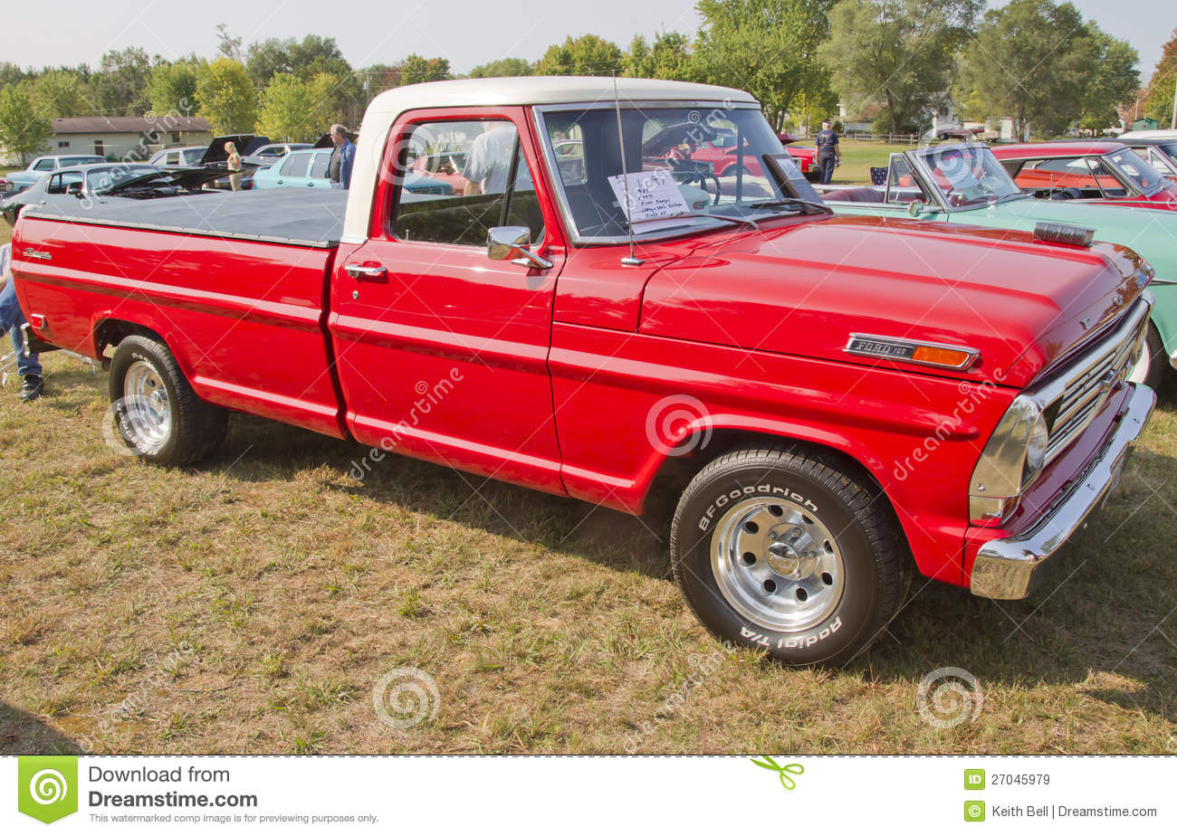 1969 Ford F100 Ranger Truck Editorial Stock Image Image