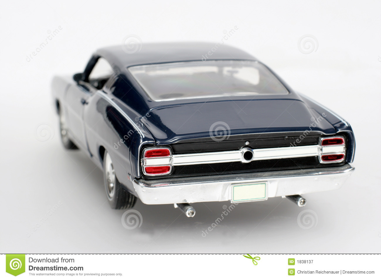 1969 ford torino talladega metal scale toy car 4 royalty free stock photography
