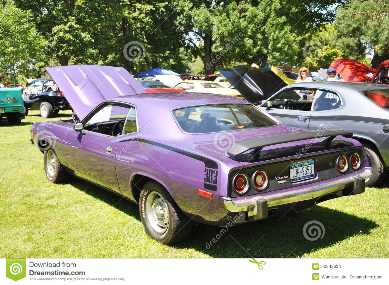 1973 Plymouth Barracuda editorial stock image  Image of
