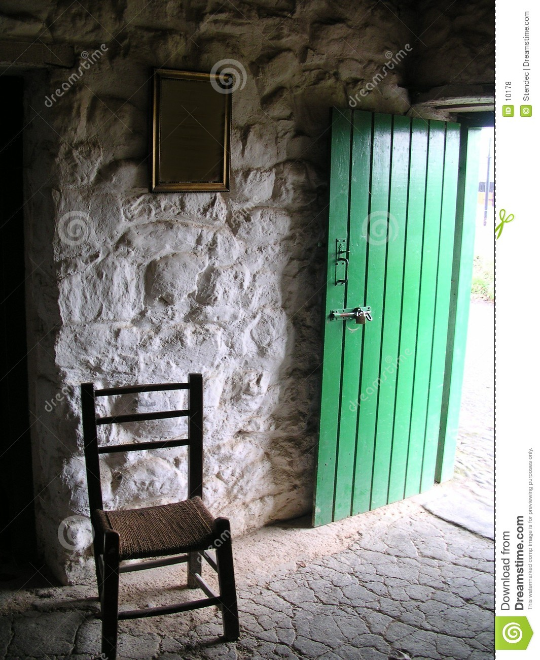 19th cent Irish cottage