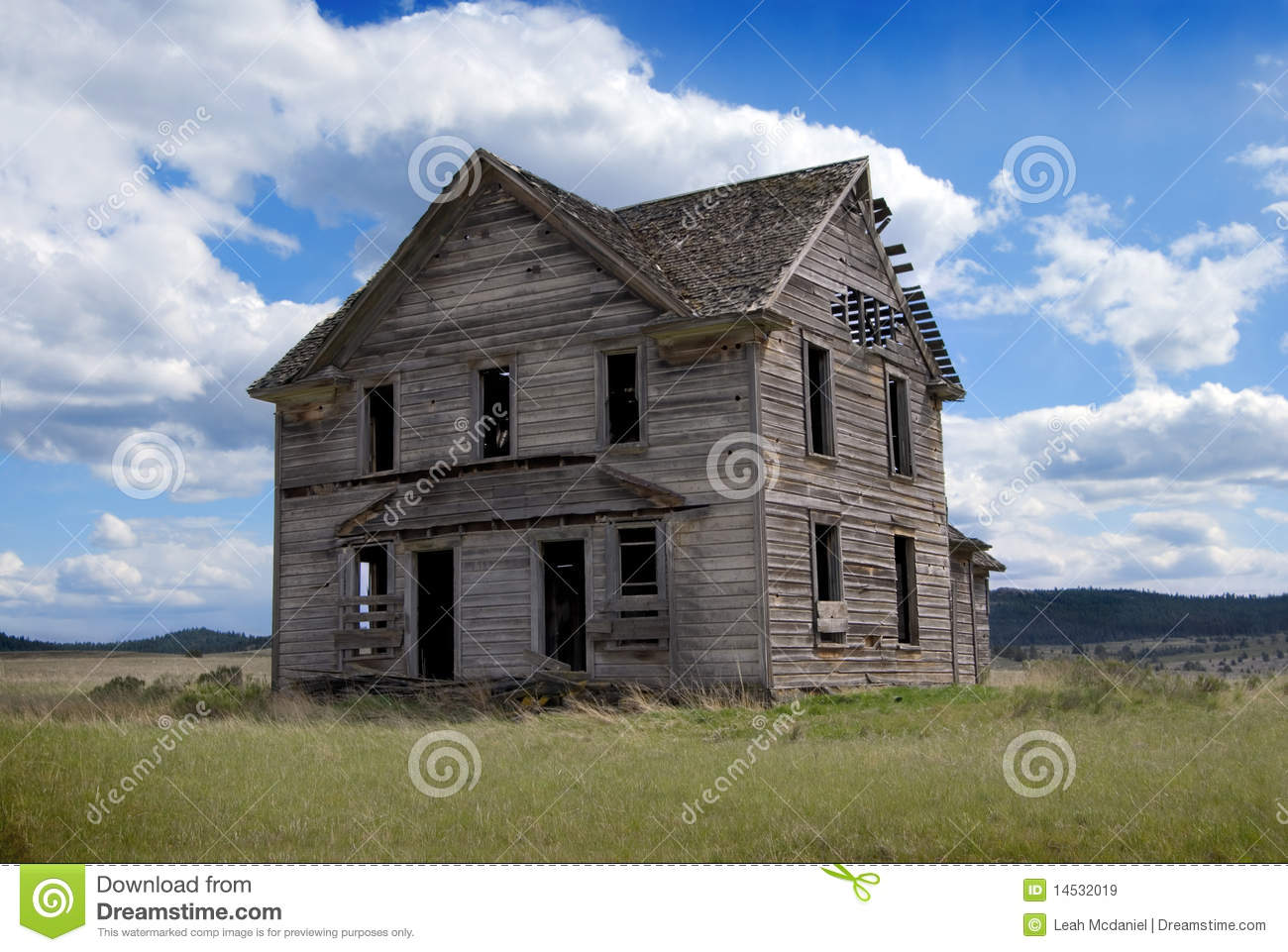 19th century abandoned homestead royalty free stock images for Free homestead