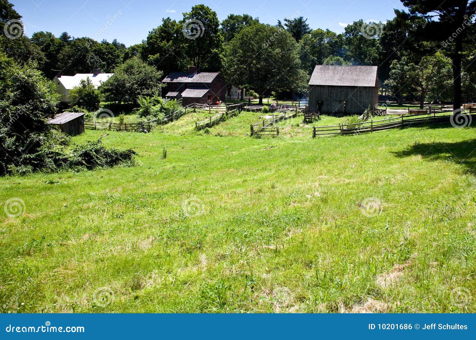 19th Century Farm Royalty Free Stock Image Image 10201686