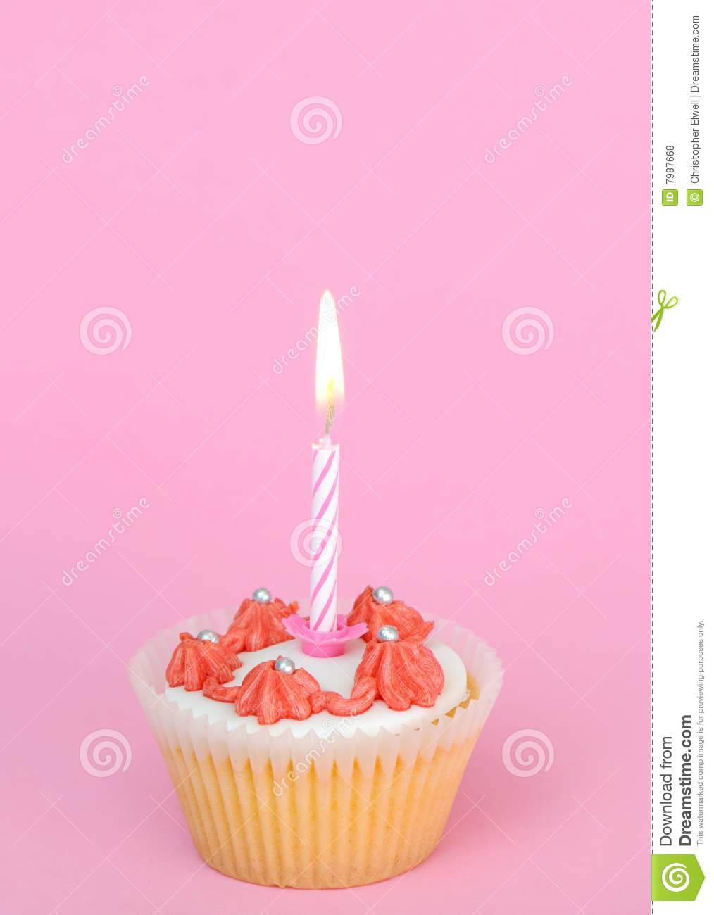 1st Birthday Cake Stock Photo Image Of Cupcake