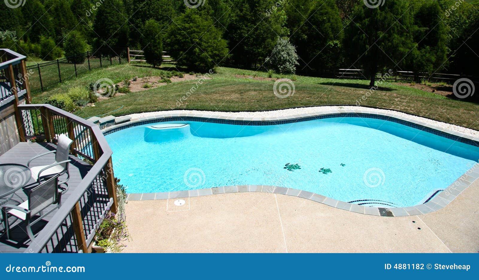 2个后院池