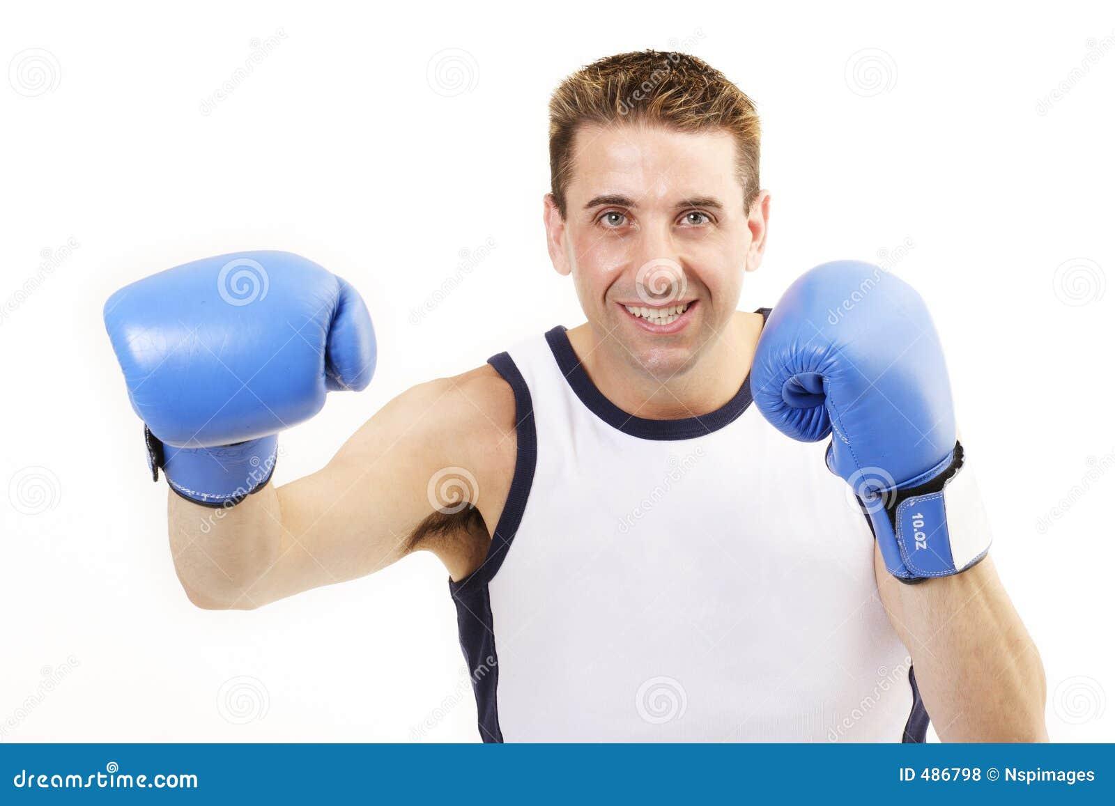 2位拳击手打孔机