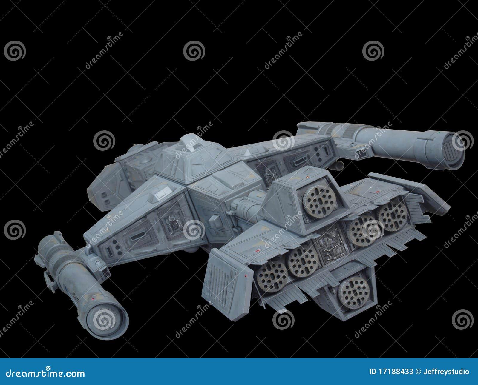 2后方太空飞船视图