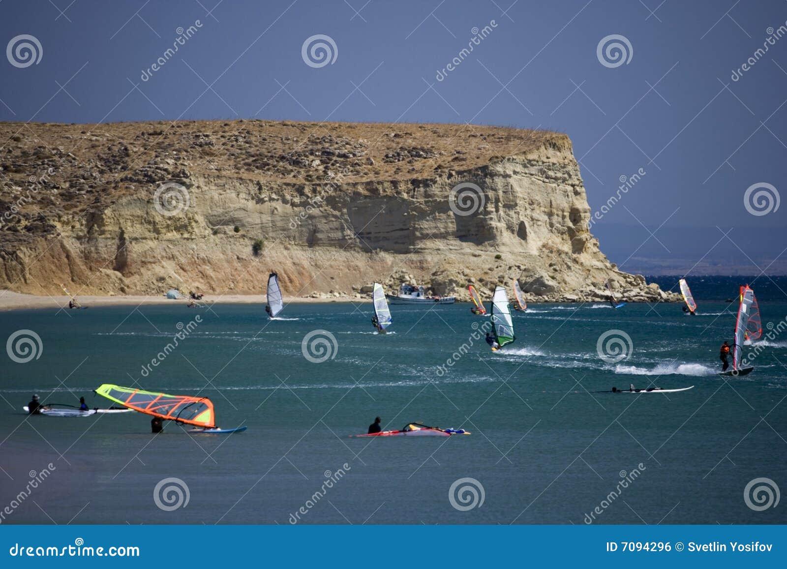 2学校风帆冲浪