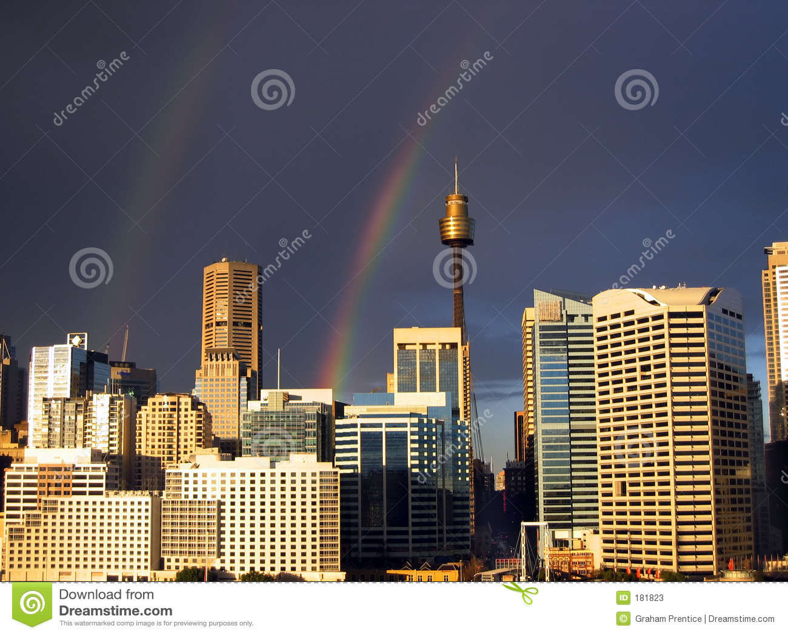 2条城市彩虹地平线