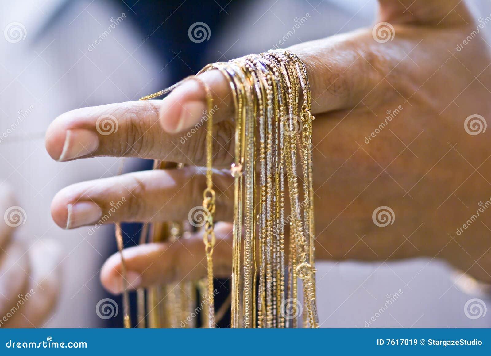 2条金项链