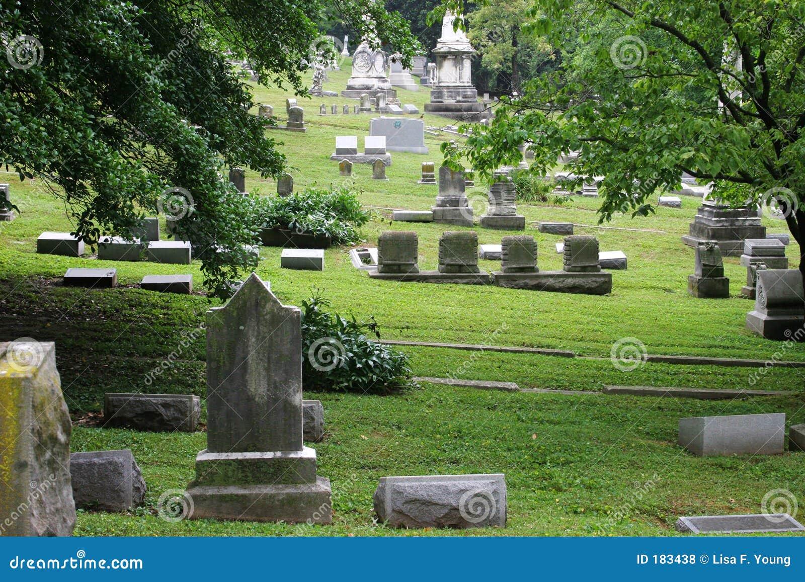 2老美丽的墓地