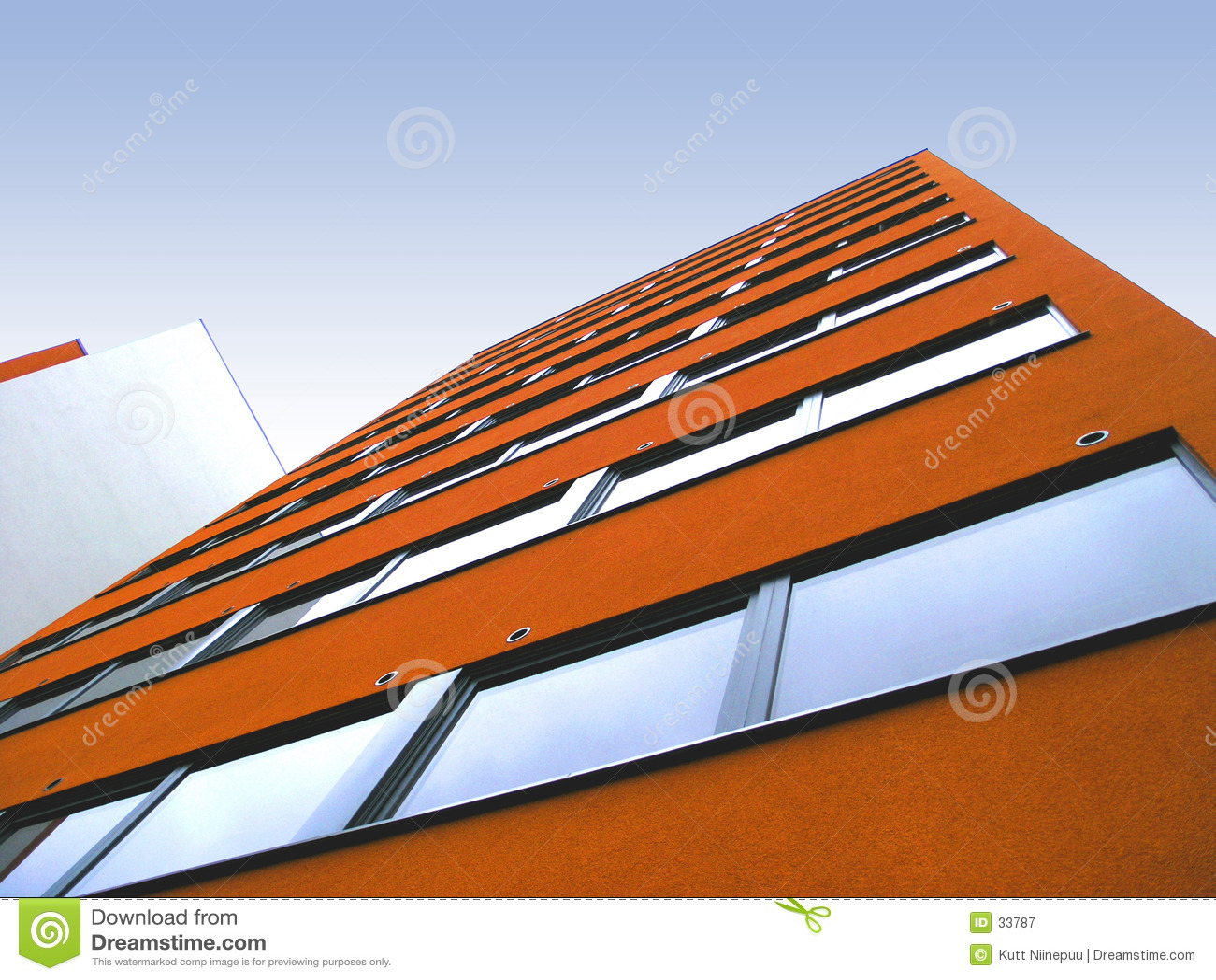 2 ściana pomarańczy