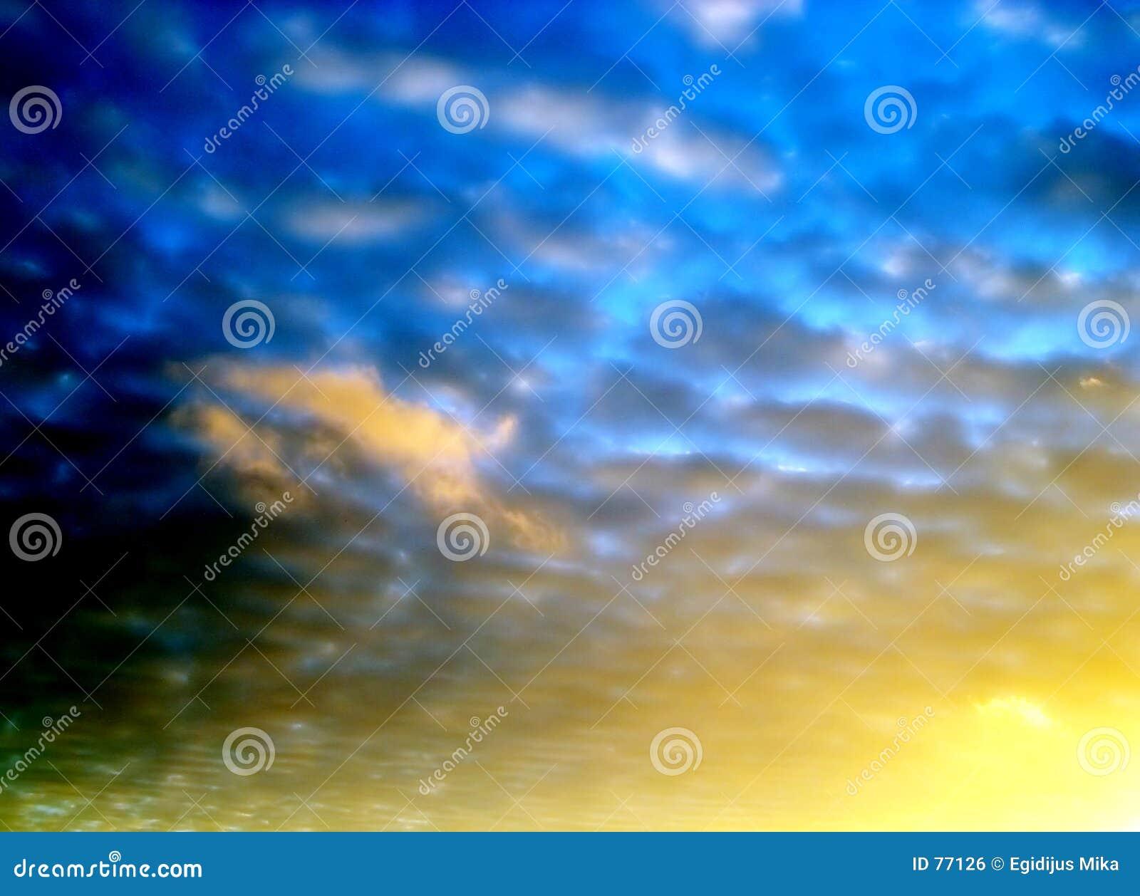 2 środowisk niebo