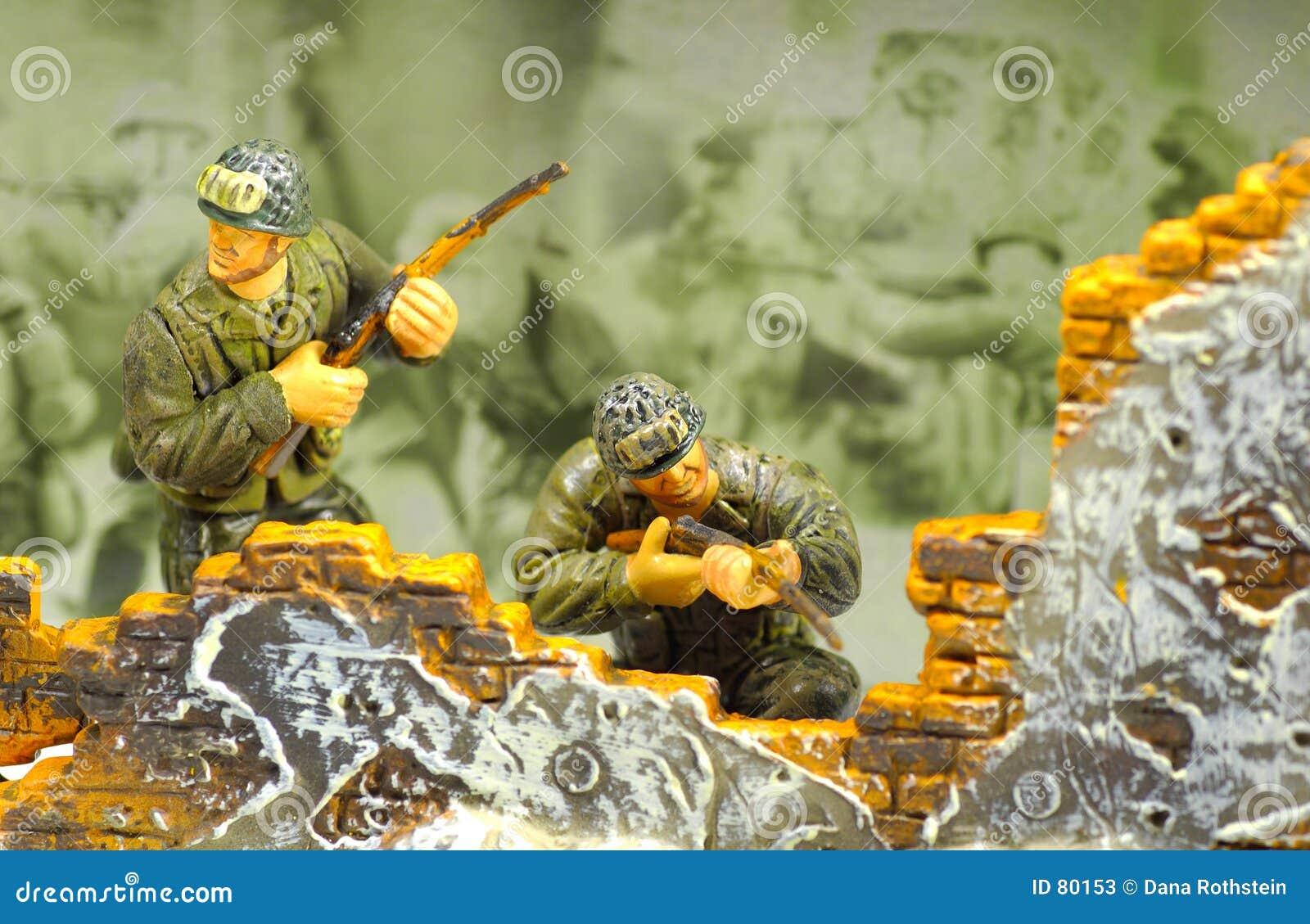 2 żołnierzy zabawka