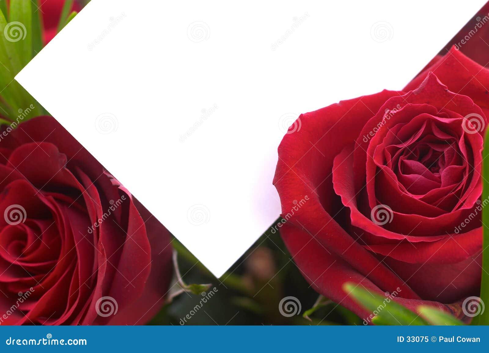 2 κόκκινα τριαντάφυλλα