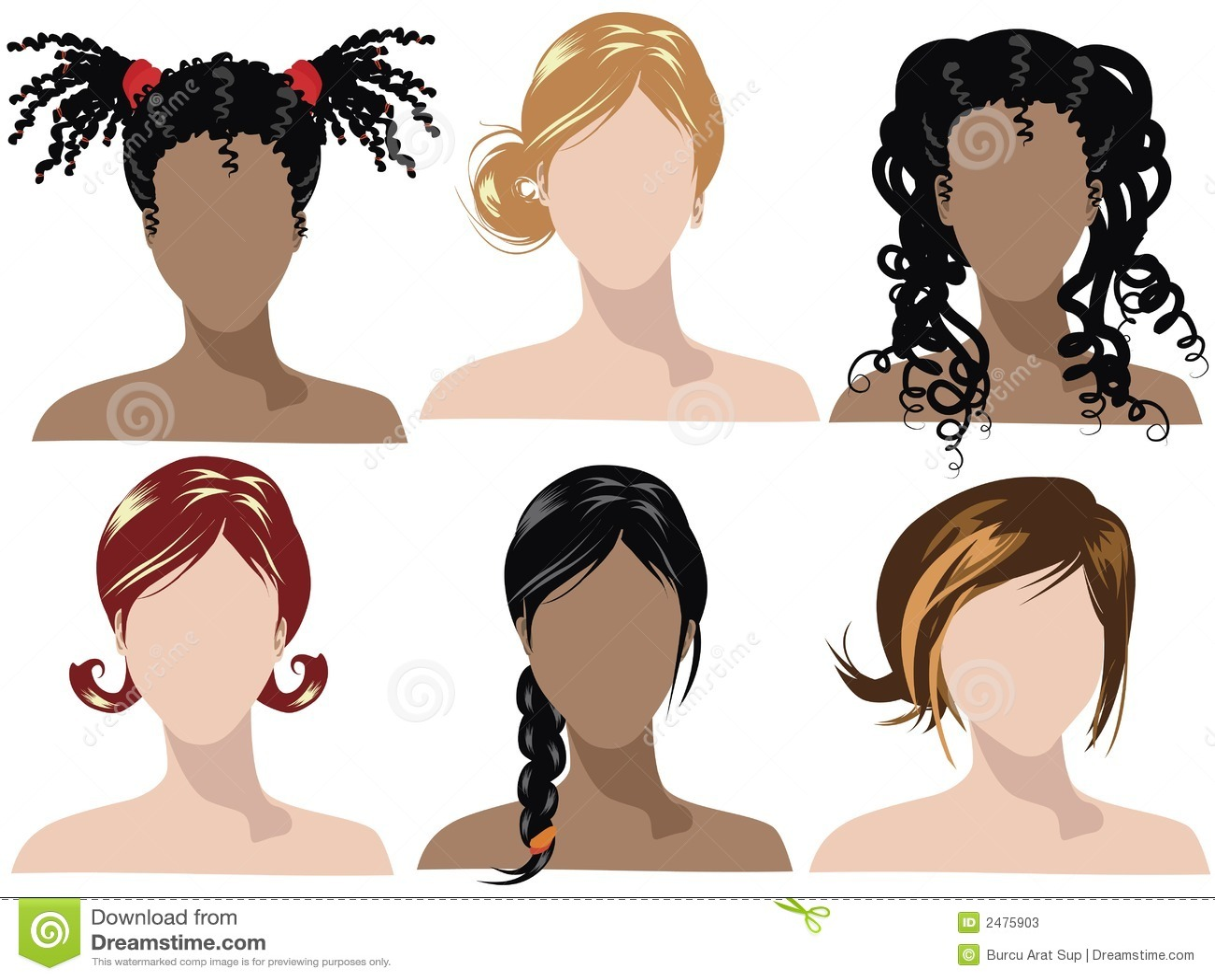 Характер по длине волос