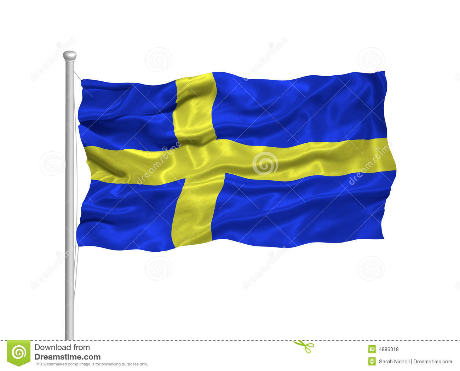 2 флаг Швеция